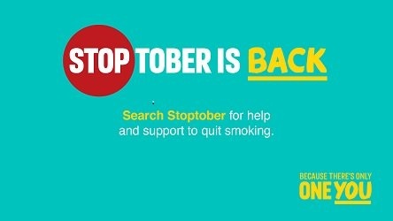 Smokers across the county will be encouraged to take part in Stoptober