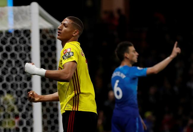 Richarlison won a crucial penalty against Arsenal on Saturday. Picture: Action Images