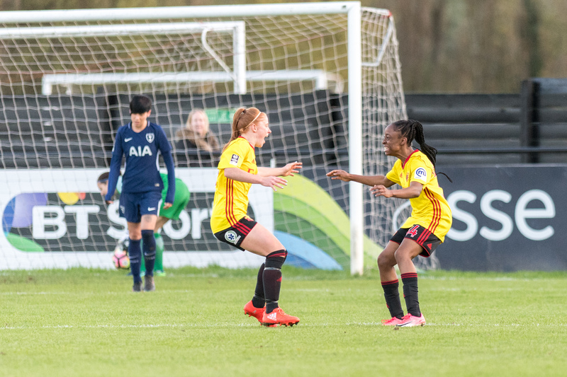 Watford Ladies were unable to build on Saturday's 1-1 draw with Spurs