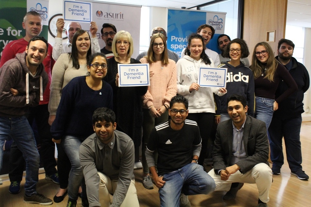 The team at Smart Cover becoming dementia friends