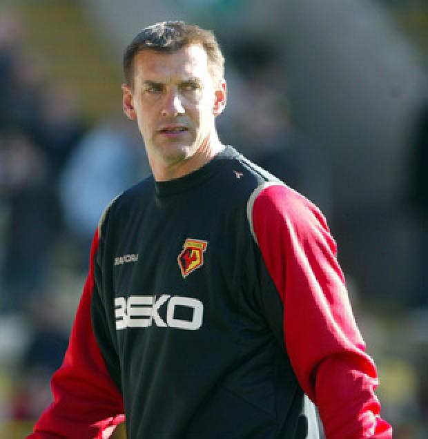 Alec Chamberlain will remain as Watford's goalkeeping coach