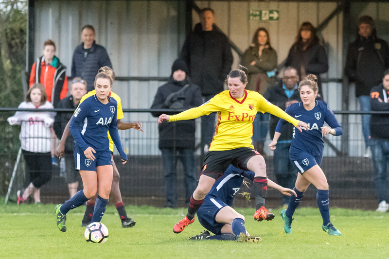Helen Ward admitted Watford Ladies 'didn't do the basics right'. Picture: AW Images