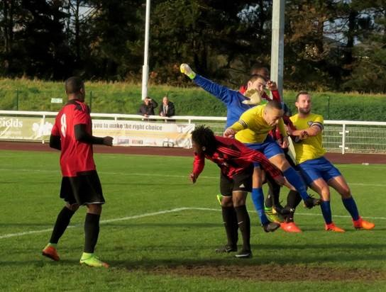 Berko need extra-time to win in FA Vase thriller. Picture: Ray Canham