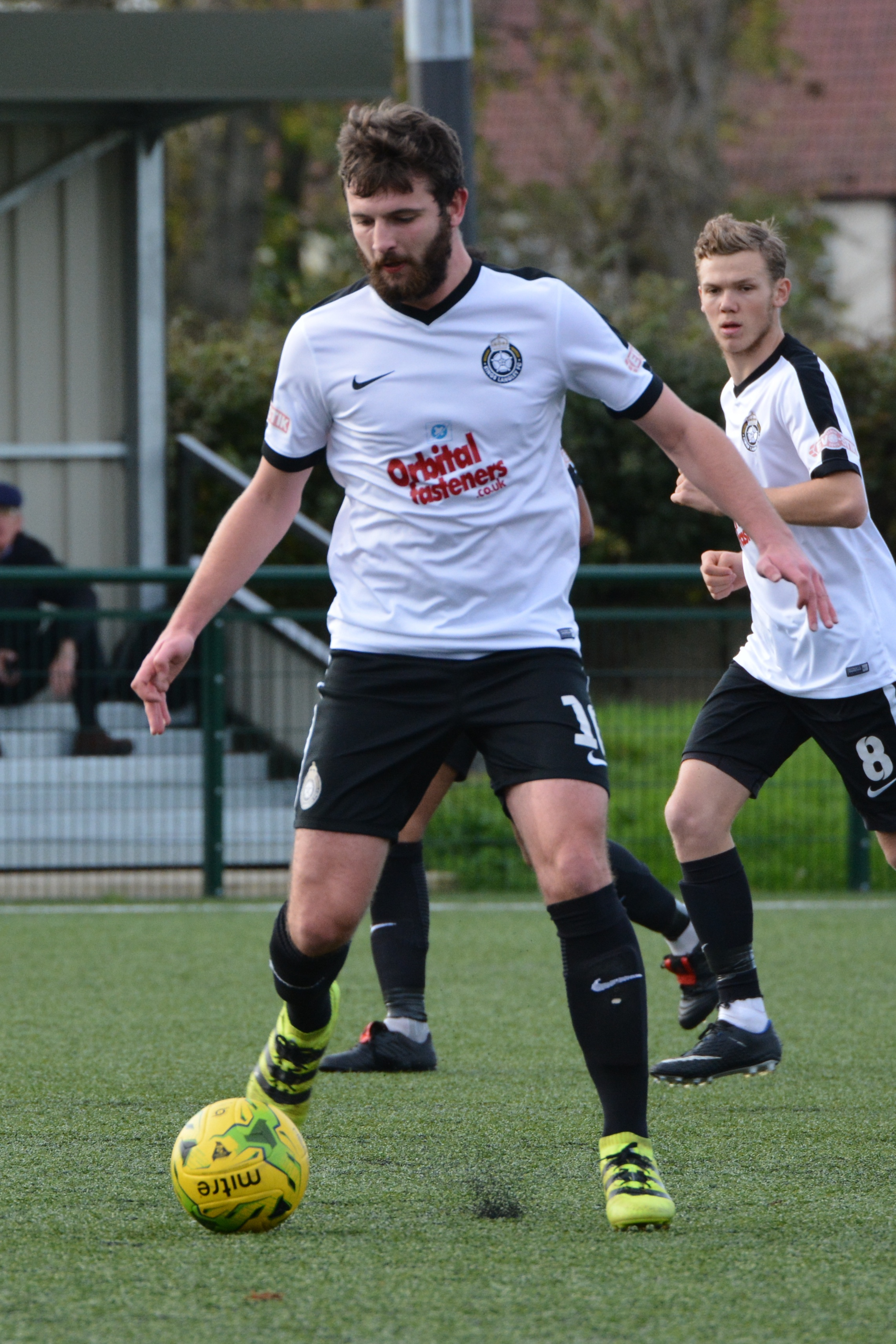 Kings Langley's hopes were hit when Michael King was unable to continue after half-time. Picture: Chris Riddell