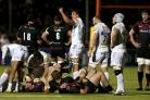 Exeter Chiefs celebrate their win over Saracens (Paul Harding/PA)