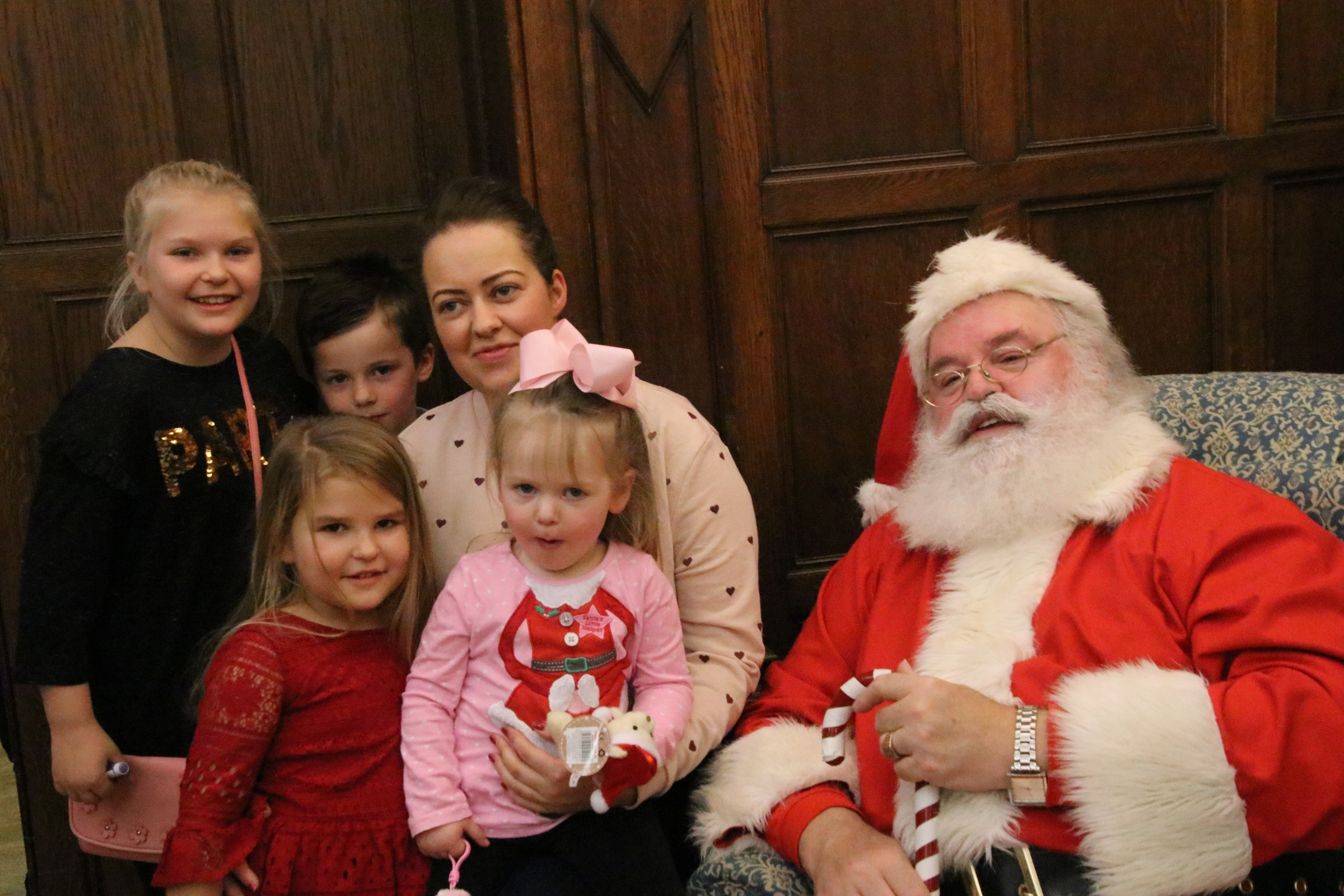 Children got the chance to meet and have their picture taken with Santa