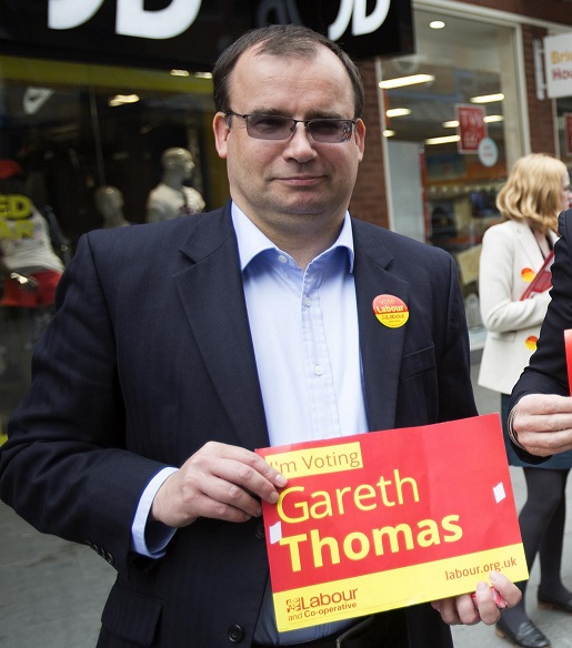 Gareth Thomas, MP for Harrow West