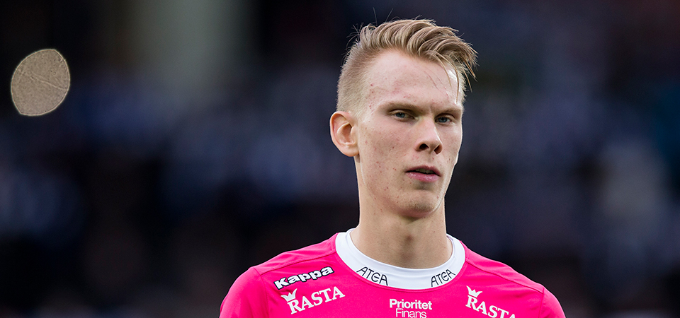 Pontus Dahlberg is a Swedish Under-21 international. Picture: IFK Gothenberg