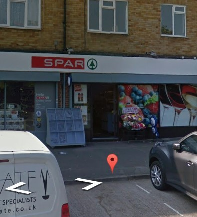 Spar in Croxley. Image from Google Street View