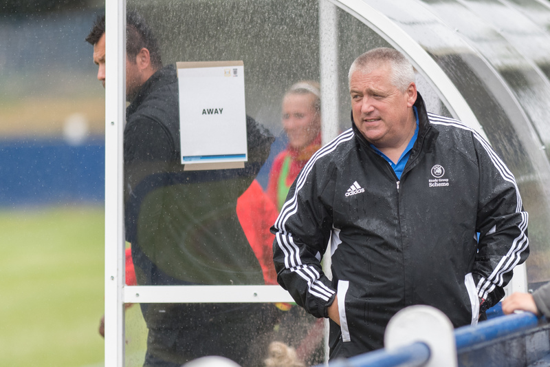 Keith Boanas was disappointed the weather stopped him from saying a proper goodbye to Watford Ladies. Picture: AW Images
