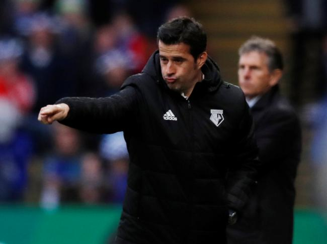 Marco Silva's public comments, and tactical arrogance, proved his undoing. Picture: Action Images