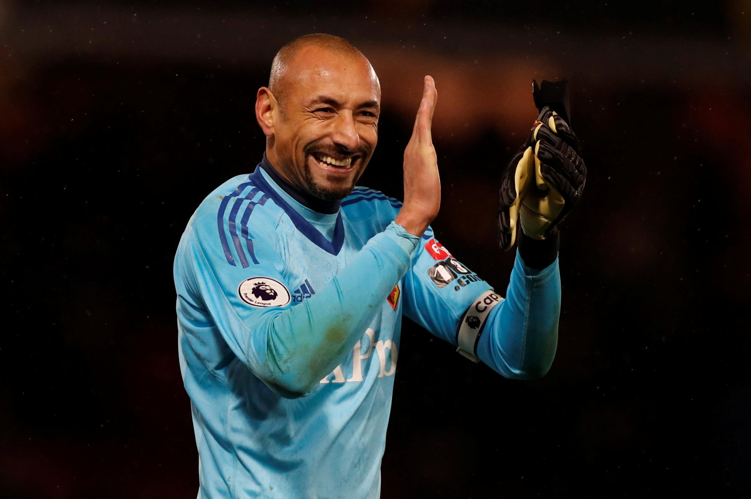 Heurelho Gomes is on a five-man shortlist for the Goalkeeper of the Year award