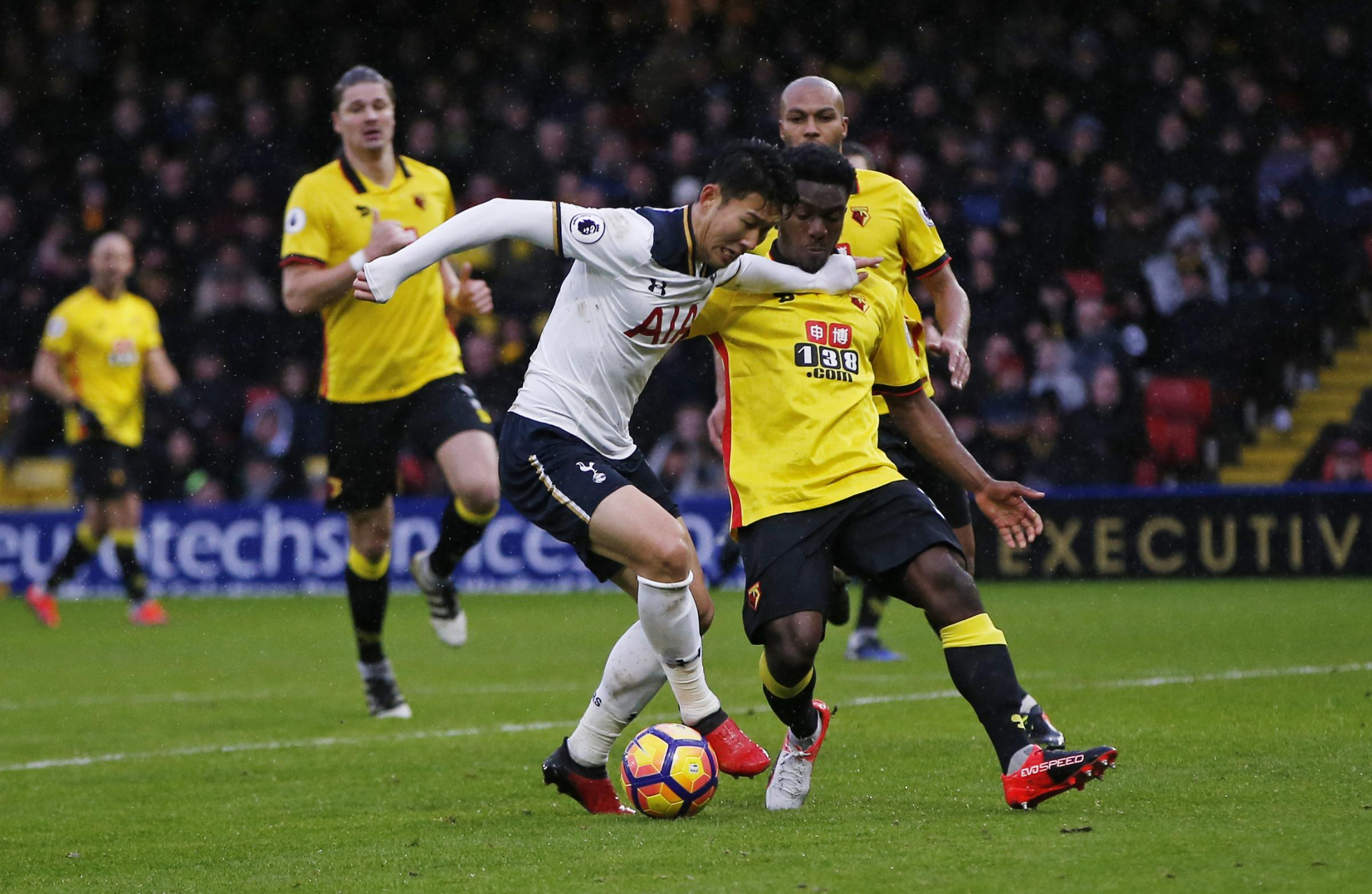 Brandon Mason made four first-team outings last season, but hasn't featured for Watford this term. Picture: Action Images
