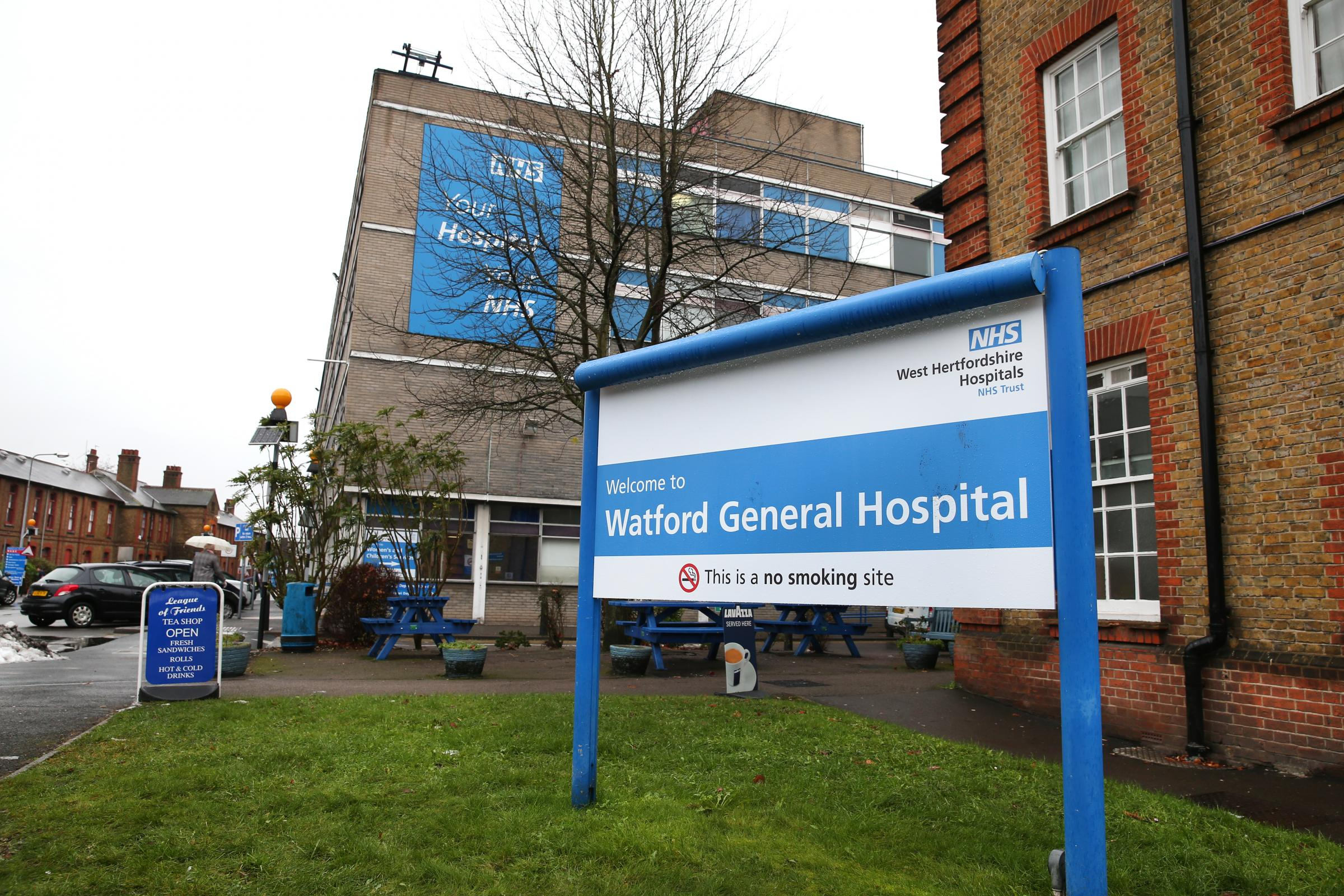 Watford General Hospital, which is run by the West Hertfordshire Hospitals NHS Trust