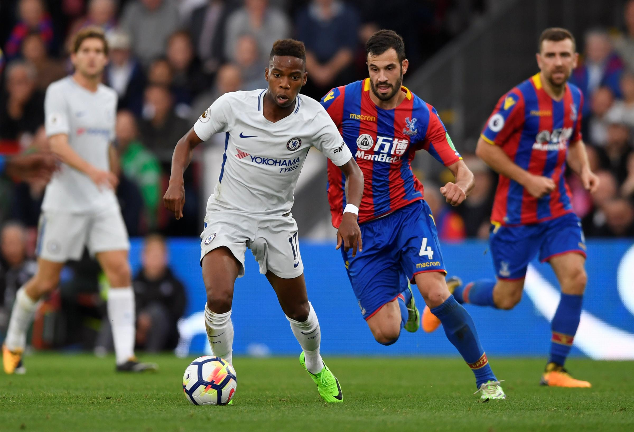 Charly Musonda has been given the go ahead to go out on loan by Chelsea. Picture: Action Images