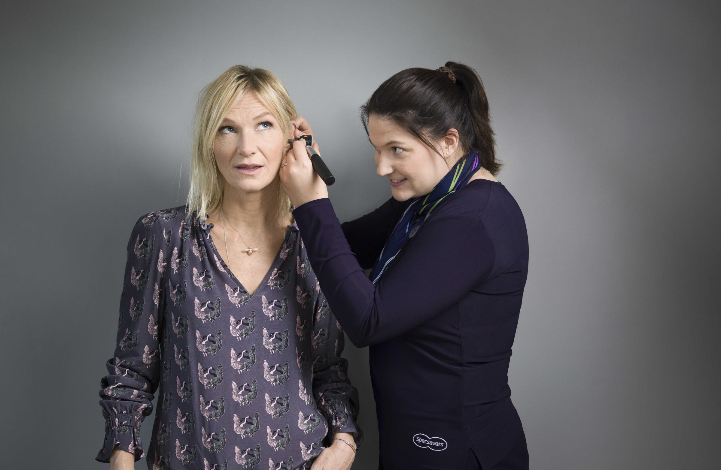 Jo Whiley with Emma Handford
