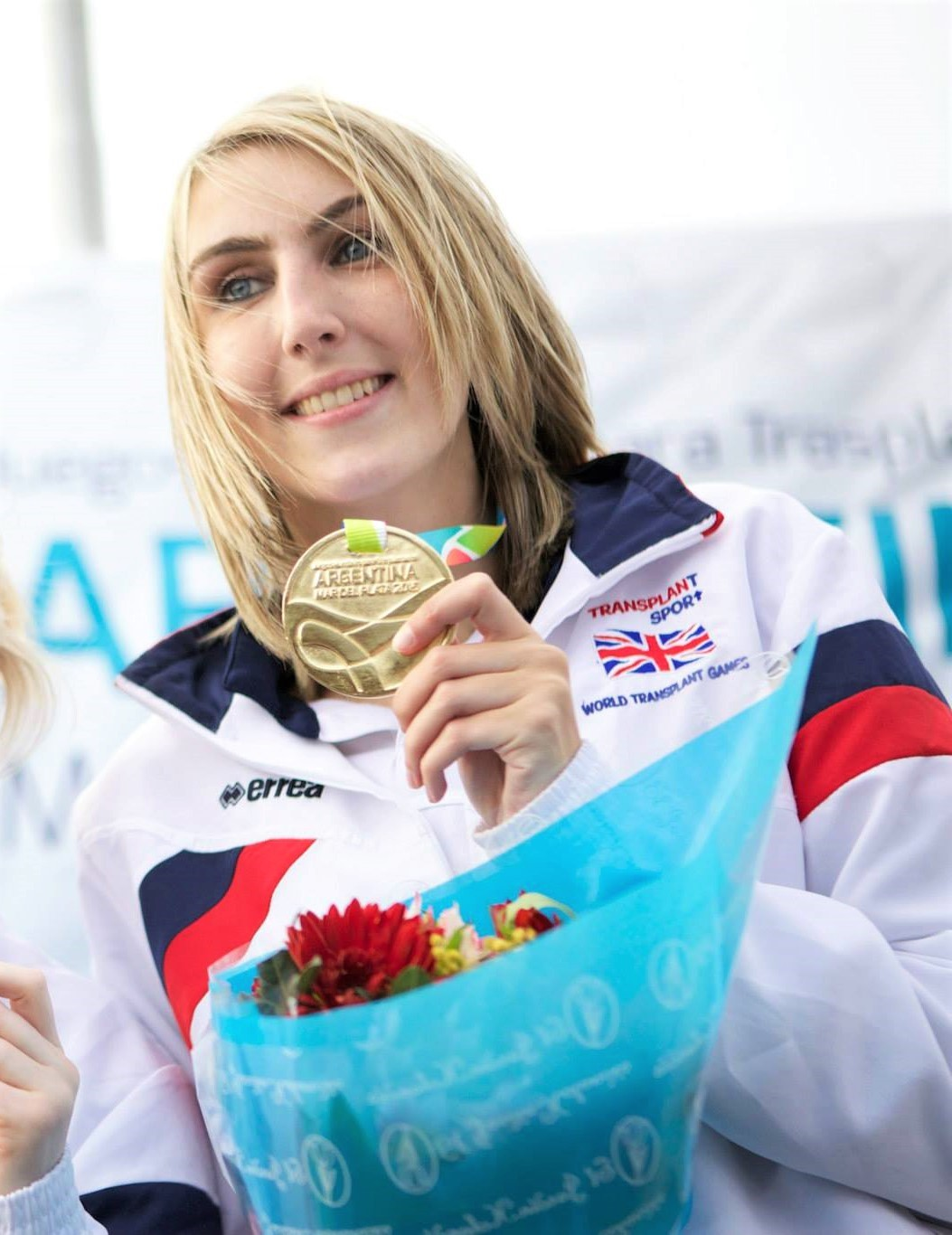 Emma Hilton, gold medallist at the 2015 World Transplant Games, has benefitted from the Sporting Champions scheme