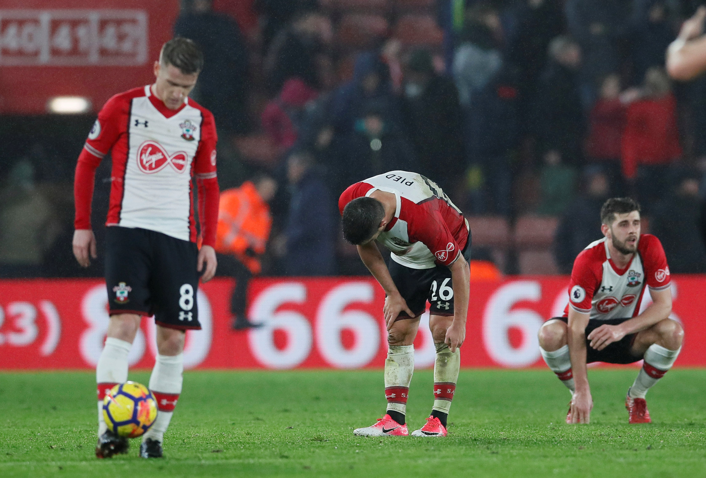 Southampton have picked up only seven points since the start of November. Picture: Action Images