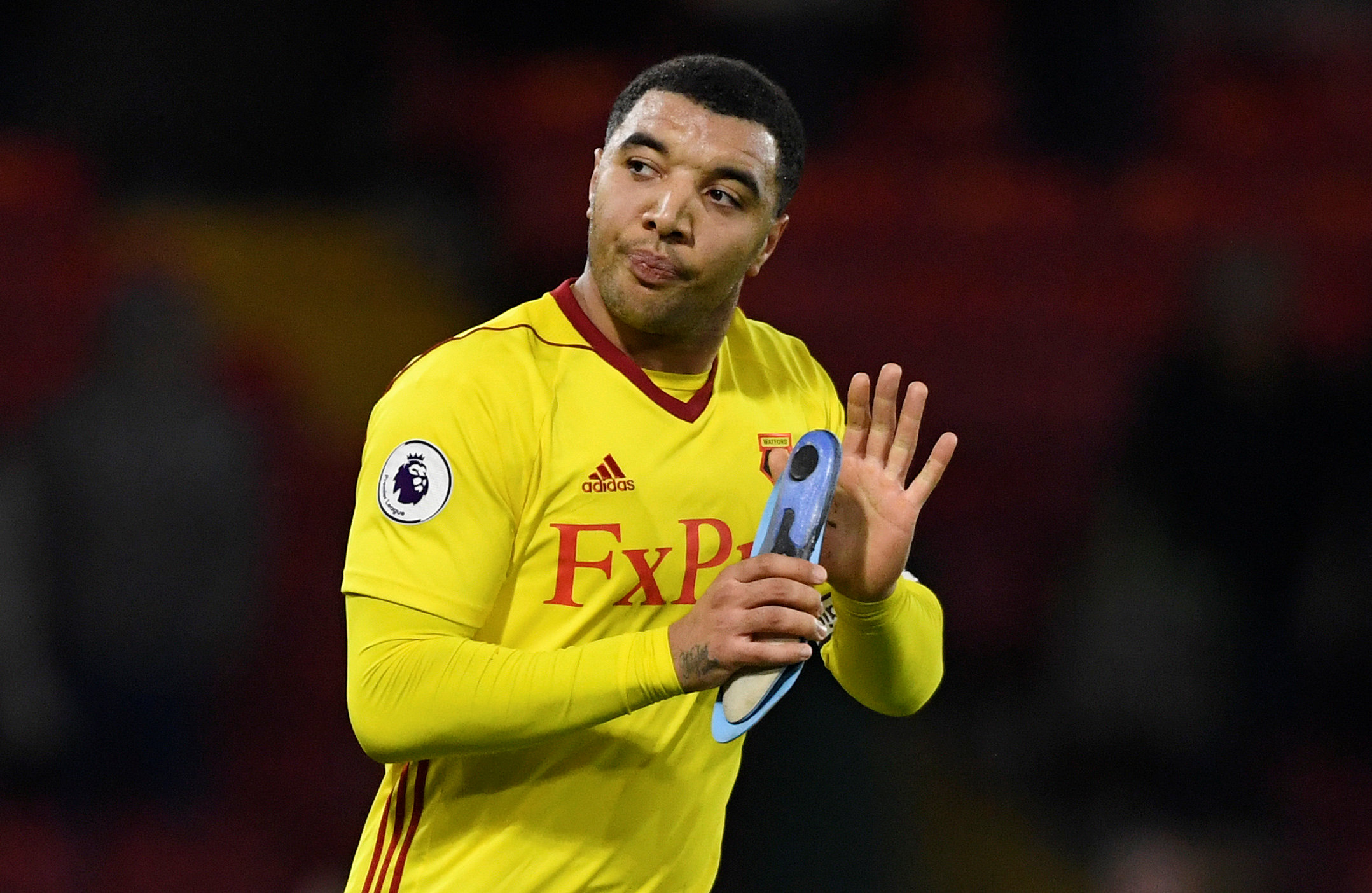 Troy Deeney's introduction made a big difference to Watford's performance. Picture: Action Images
