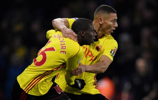 Richarlison has eight assists for Watford this season - five more than anyone else. Picture: Action Images