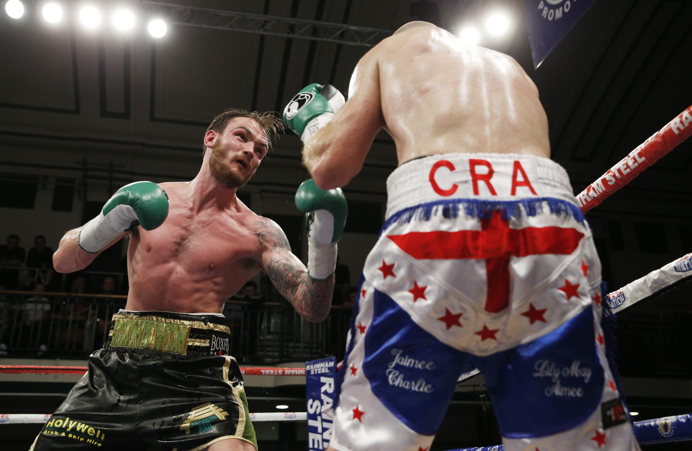 Miles Shinkwin faces Liam Conroy on March 31. Picture: Action Images