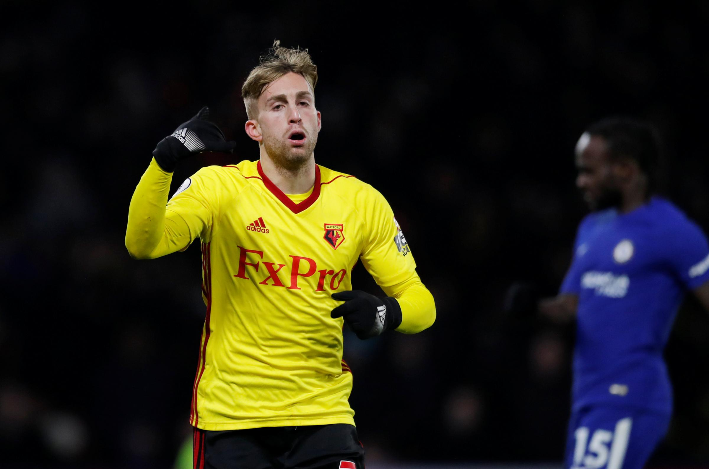 Gerard Deulofeu scored on his home debut to make it 3-1. Picture: Action Images