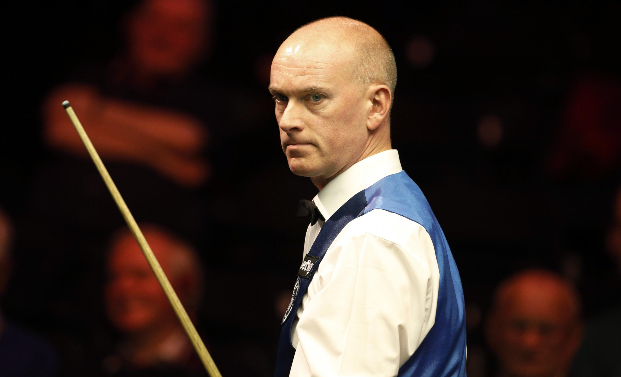 Peter Ebdon was knocked out in the second round at Watford Colosseum. Picture: Action Images