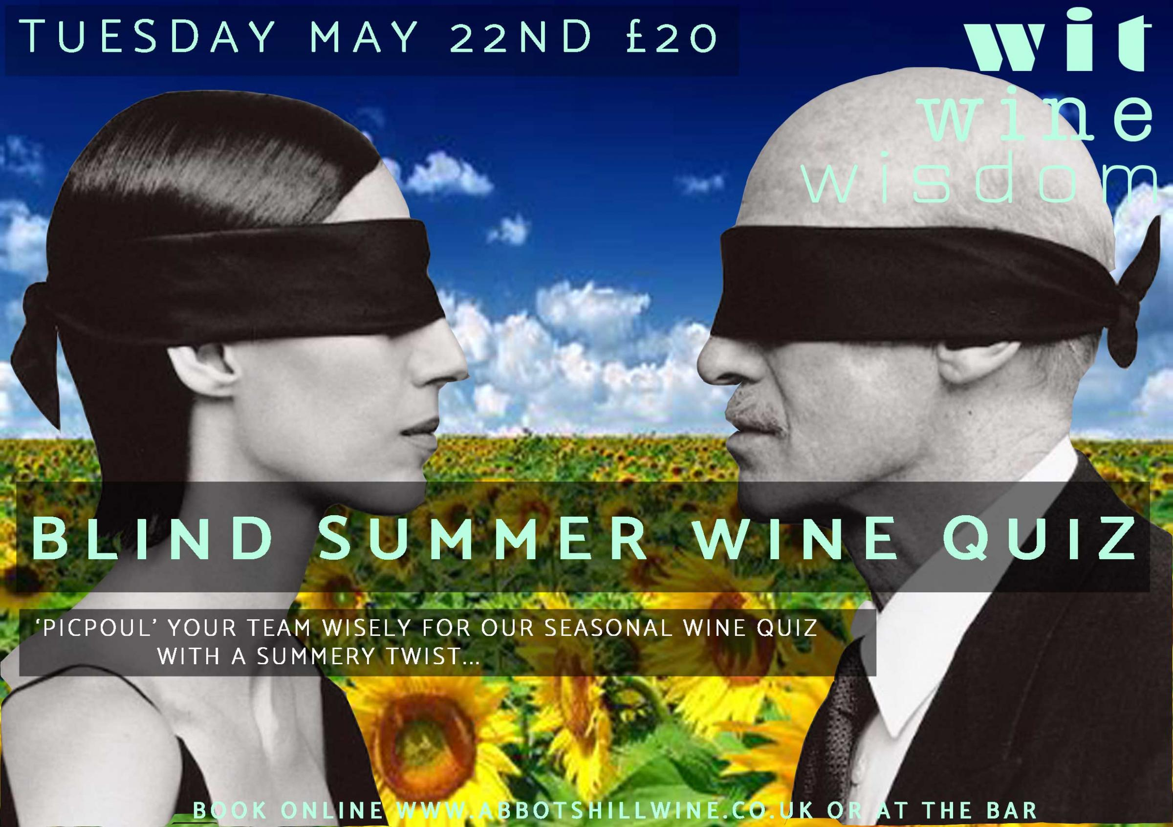 BLIND SUMMER WINE QUIZ