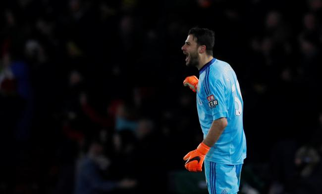 Orestis Karnezis is on loan at Watford. Picture: Action Images