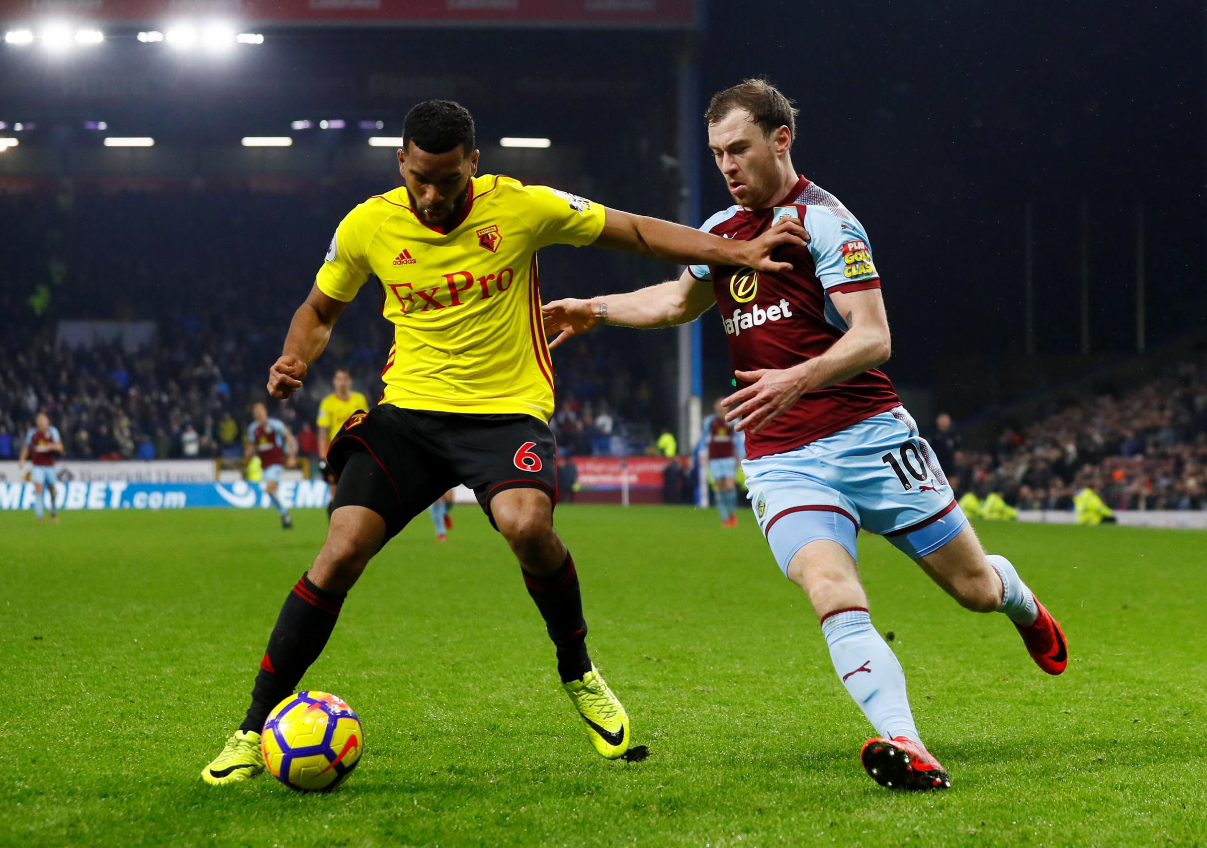 Adrian Mariappa says there is plenty of competition for places at Watford. Picture: Action Images