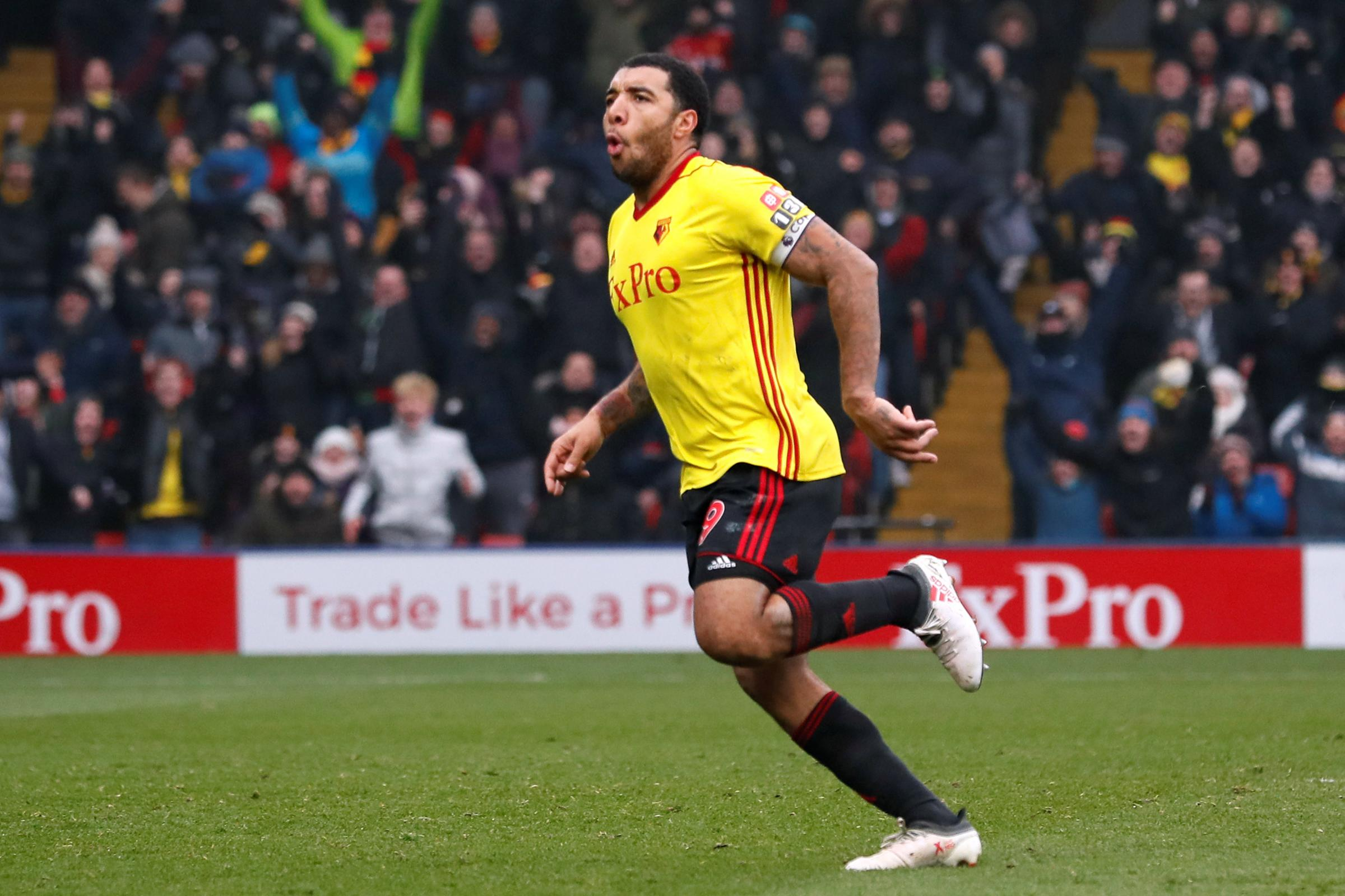 Troy Deeney is off the mark for pre-season. Picture: Action Images