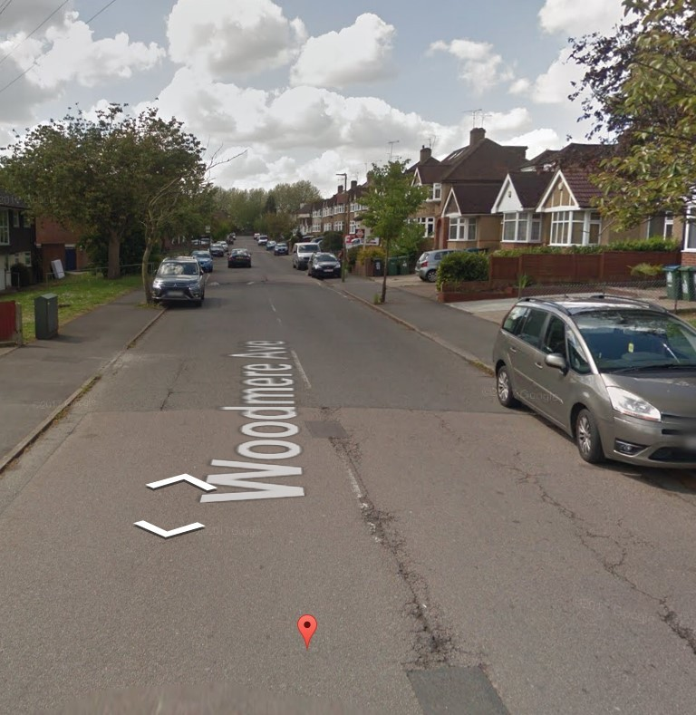 Image street view of Woodmere Avenue in Watford