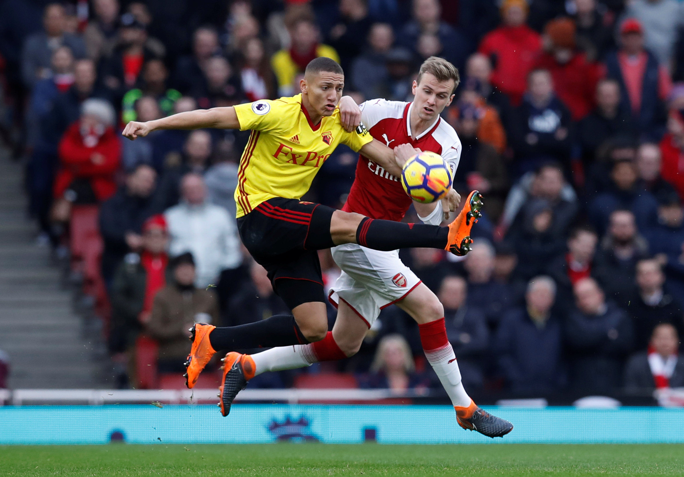 Richarlison has suffered a dip in form in recent weeks. Picture: Action Images
