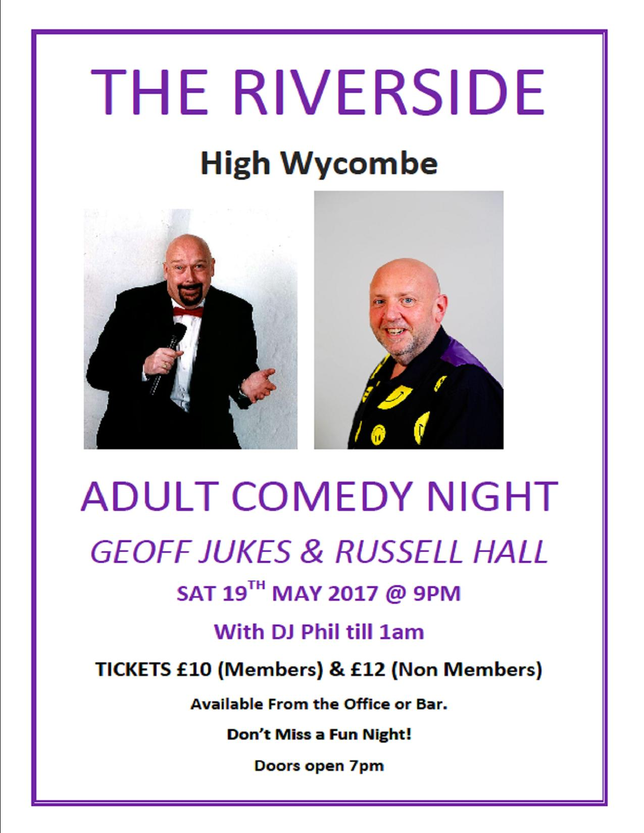 Adult Comedy and Disco night