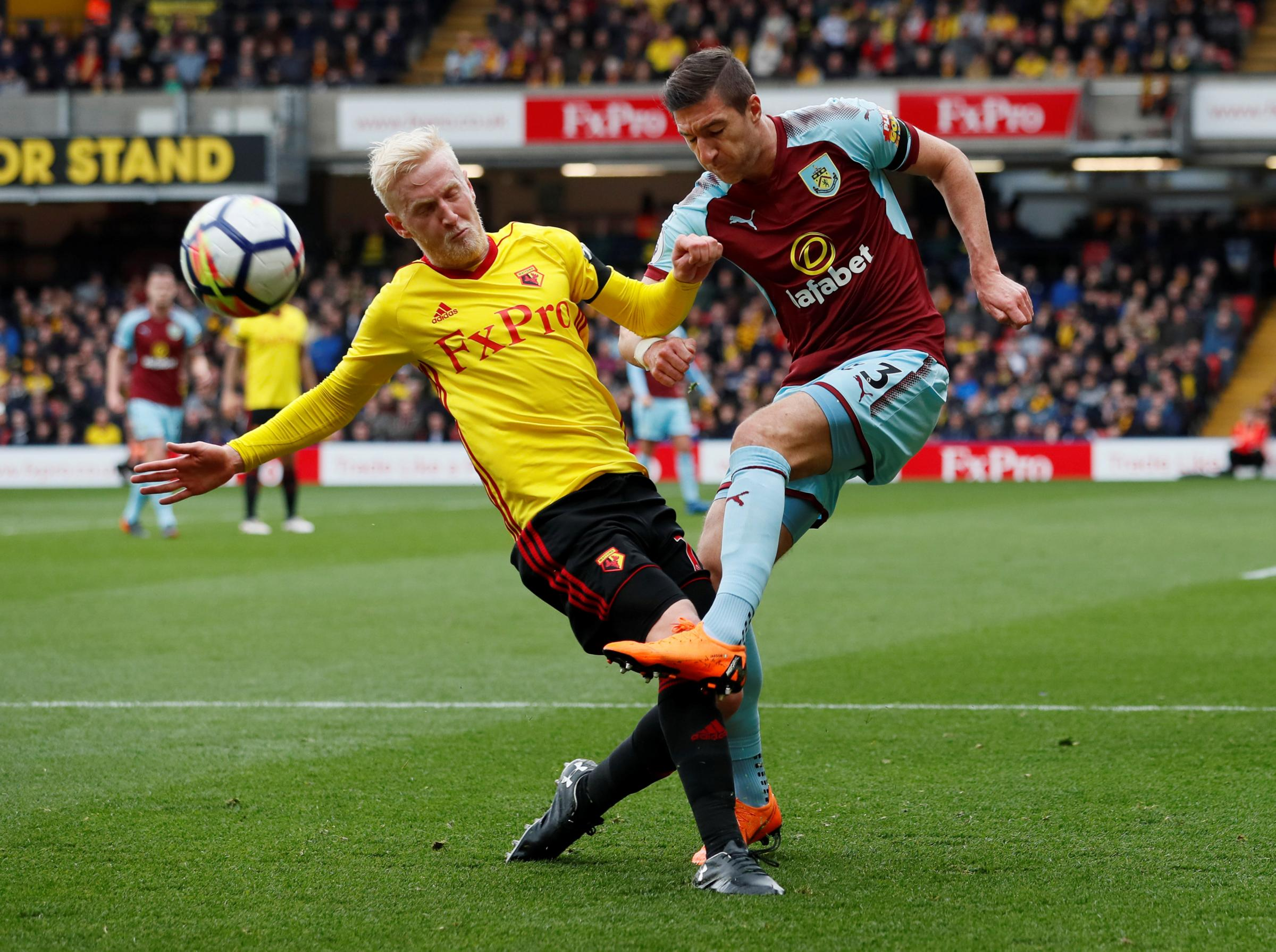 Will Hughes spent three months out with a hamstring injury, but has impressed since his return to fitness. Picture: Action Images