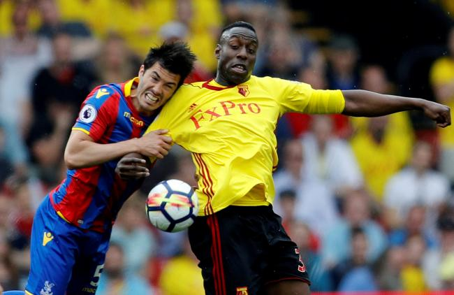 Stefano Okaka could leave Watford this summer. Picture: Action Images
