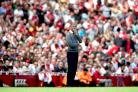 Arsene Wenger faced Arsenal fans for the first time since announcing he will leave at the end of the season (Chris Radburn/Empics)
