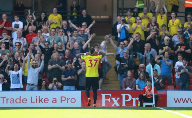 Roberto Pereyra scored one and set up another as Watford beat Newcastle. Picture: Reuters.