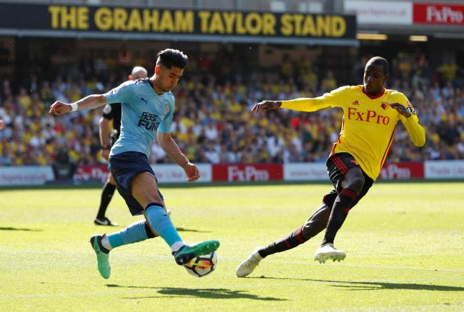 Abdoulaye Doucoure has been superb for Watford this season. Picture: Action Images