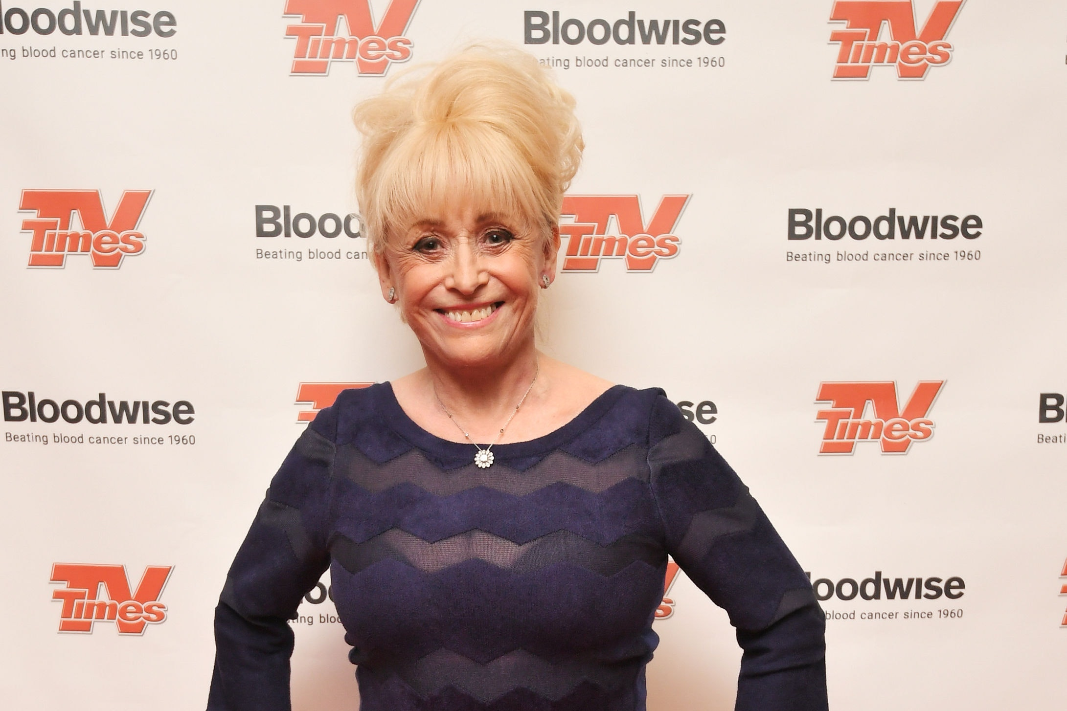 Dame Barbara Windsor on the red carpet