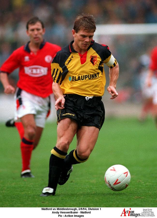 Watford were involved in a tribunal with Gillingham for Andy Hessenthaler. Picture: Action Images
