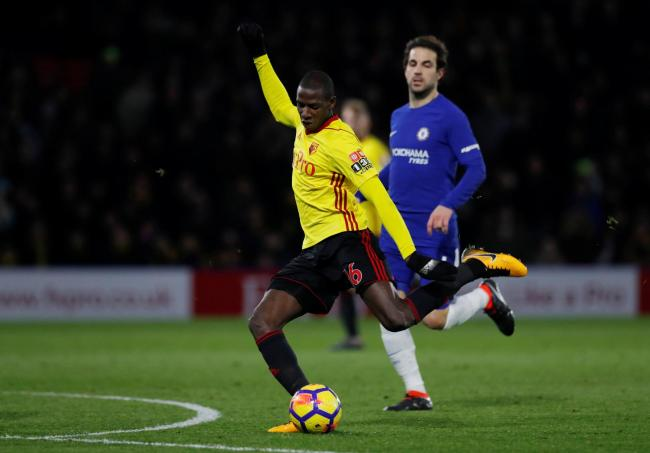 Abdoulaye Doucoure enjoyed a standout campaign for Watford in 2017/18. Picture: Action Images