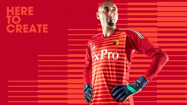 5fe4a3868da Watford's keepers will wear red next season. Picture: Watford FC