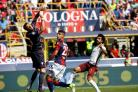 Adam Masina in action for Bologna against Roma. Picture: Action Images