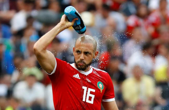 Nordin Amrabat could depart Vicarage Road this summer. Picture: Action Images