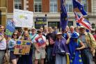 The Lib Dems at the Brexit march