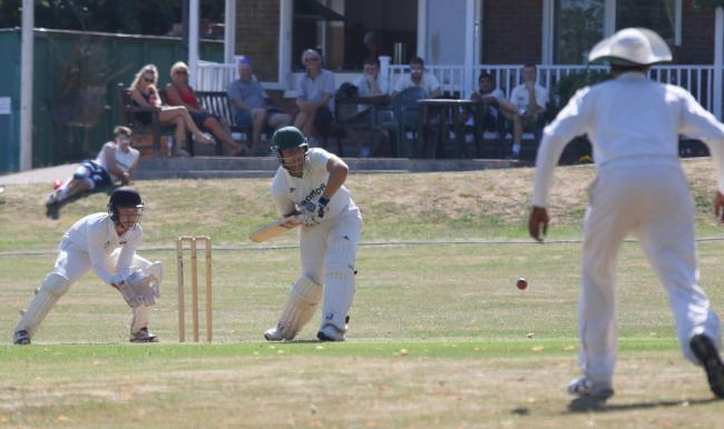 Abbots Langley (batting) enjoyed a convincing victory over Northwood. Picture: Len Lerswill