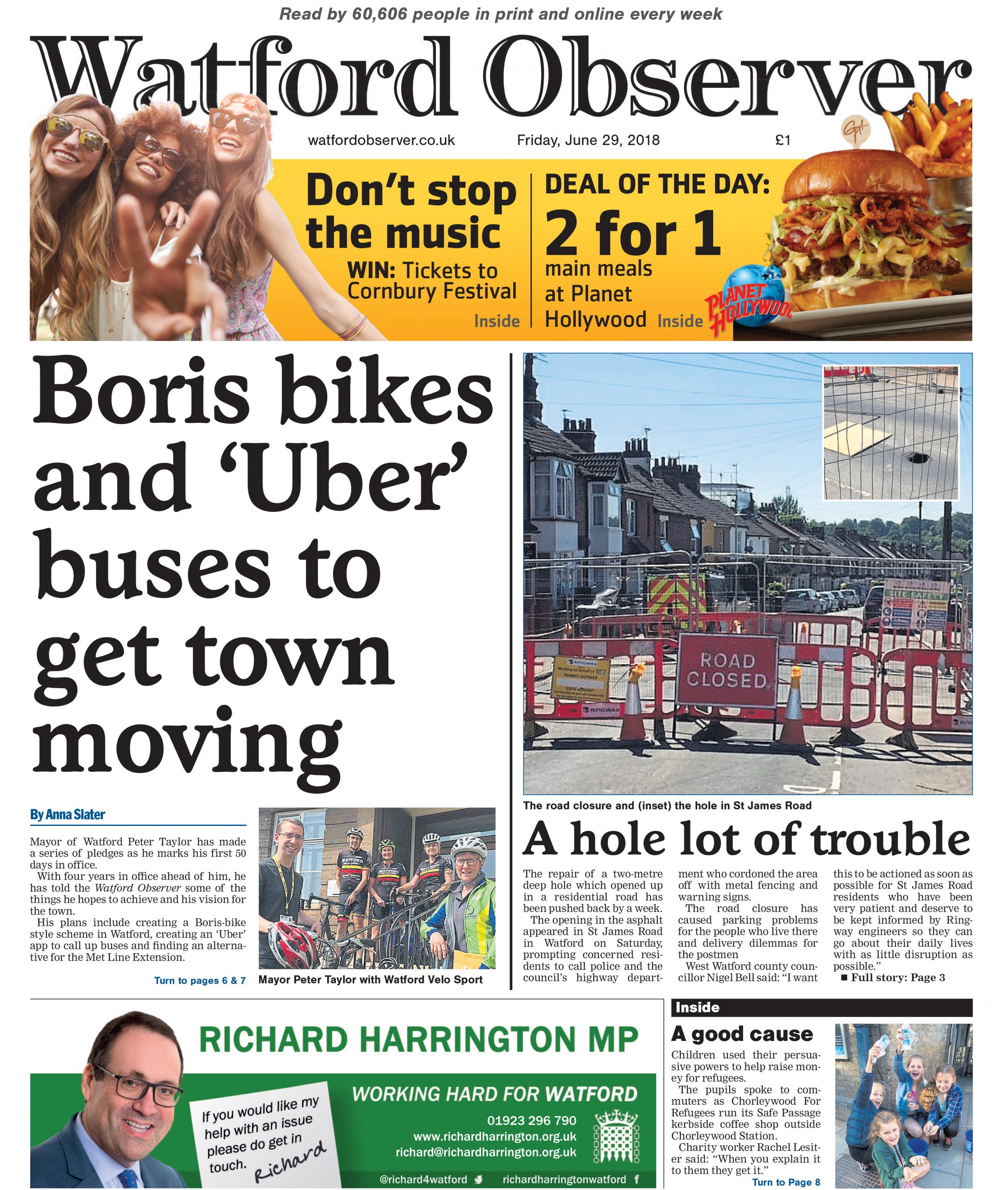 Rodney Salter thinks there is no point in switching from Tube to bus or tram at Croxley