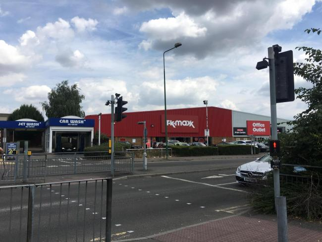 The current TK Maxx store in St Albans Road