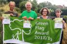 Councillor 'absolutely delighted' by green space awards